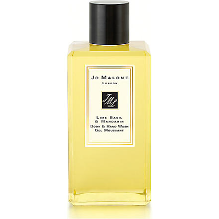 JO MALONE Lime Basil & Mandarin body & hand wash 100ml (Lime basil & mandarin