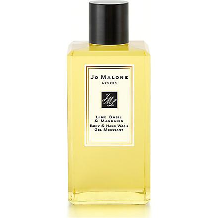 JO MALONE Lime Basil & Mandarin body & hand wash 100ml (Lime+basil+mandarin