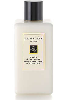 JO MALONE Amber & Lavender body & hand lotion 250ml
