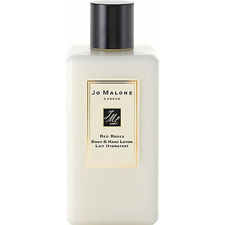 JO MALONE Red Roses body & hand lotion 250ml (Red+roses