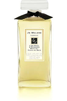 JO MALONE Lime Basil & Mandarin bath oil 30ml