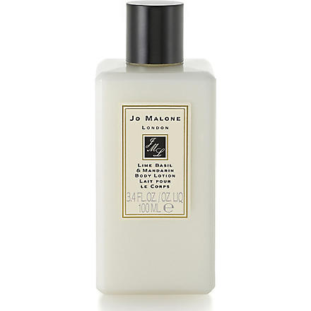 JO MALONE Lime Basil and Mandarin body & hand lotion 100ml (Lime+basil+mandarin
