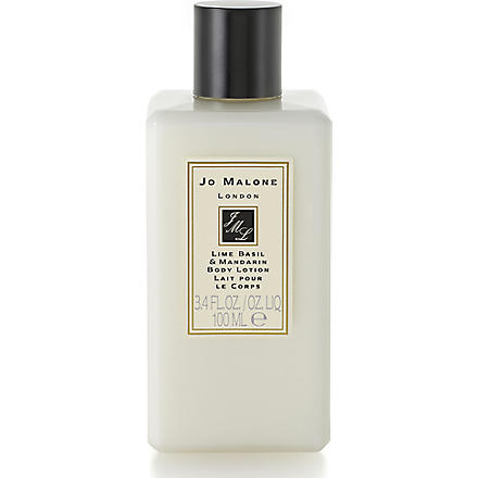 JO MALONE Lime Basil and Mandarin body & hand lotion 100ml