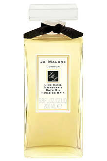JO MALONE Lime Basil & Mandarin bath oil 200ml