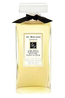 JO MALONE Lime Basil & Mandarin bath oil 200ml