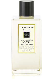 JO MALONE White Jasmine & Mint bath oil 250ml
