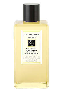 JO MALONE Lime Basil & Mandarin bath oil 250ml
