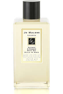 JO MALONE Nutmeg & Ginger bath oil 250ml
