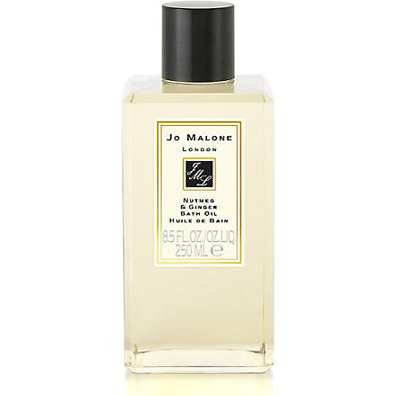 JO MALONE Nutmeg & Ginger bath oil 250ml (Nutmeg+ginger