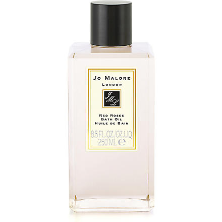 JO MALONE Red Roses bath oil 250ml (Red+roses