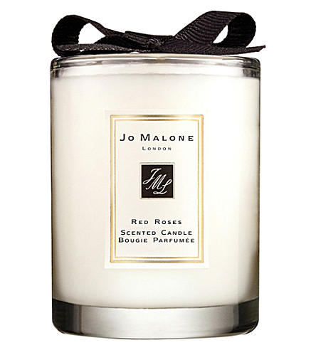 jo malone london red roses travel candle 60g. Black Bedroom Furniture Sets. Home Design Ideas