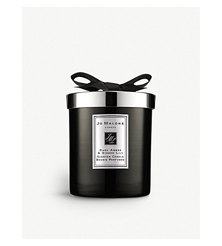 jo malone london dark amber ginger lily home candle. Black Bedroom Furniture Sets. Home Design Ideas