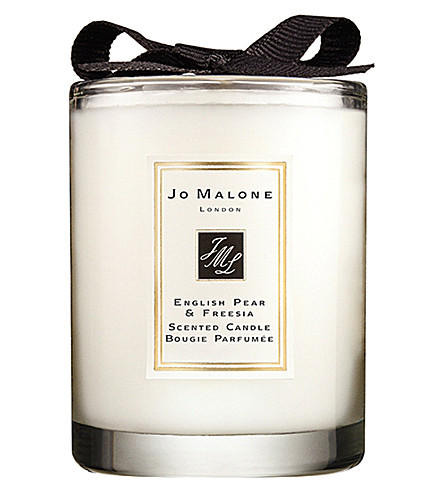 JO MALONE LONDON English Pear & Freesia travel candle 60g