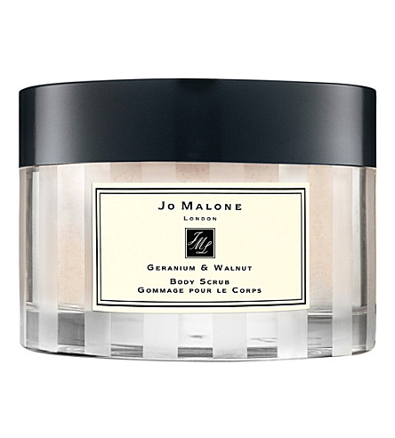 JO MALONE LONDON Walnut & Geranium body scrub 250g