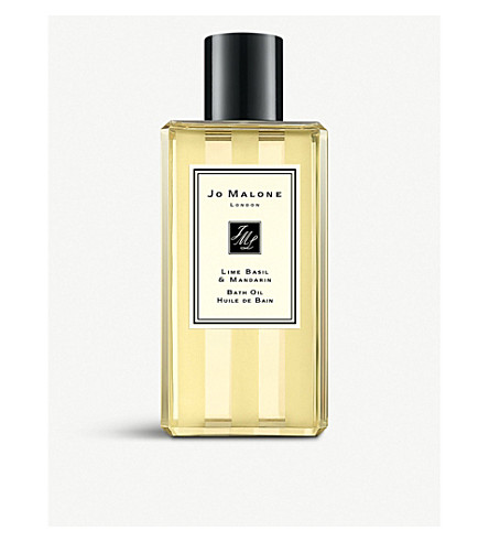 JO MALONE LONDON Lime Basil & Mandarin 沐浴油 250 毫升