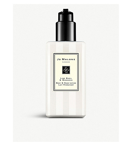JO MALONE LONDON Lime Basil & Mandarin 身体乳和护手霜 250 毫升