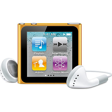 APPLE iPod nano 16GB orange