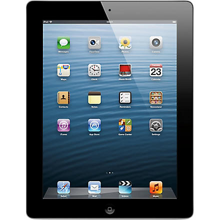 APPLE iPad with Retina display Wi-Fi 16GB - black