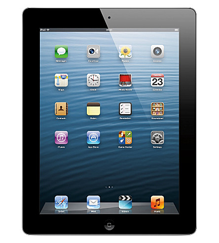 APPLE iPad with Retina display Wi-Fi 16GB - black