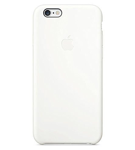 APPLE iPhone 6 silicone case white (White