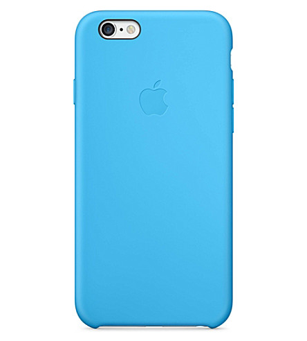 APPLE iPhone 6 silicone case blue (Blue