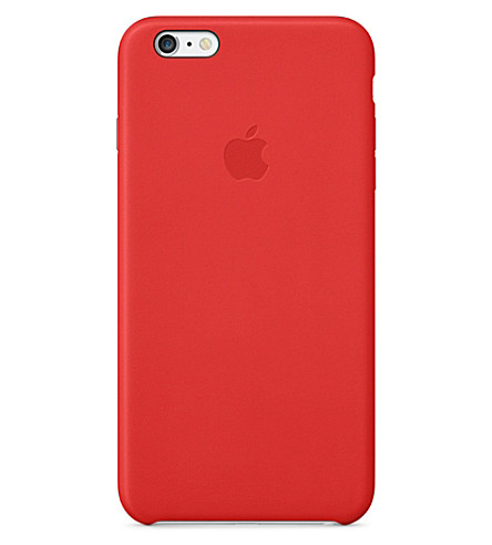 APPLE iPhone 6 Plus leather case (Red