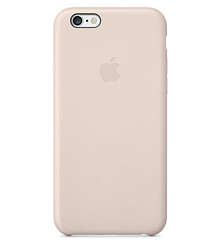APPLE iPhone 6 leather case (Pink