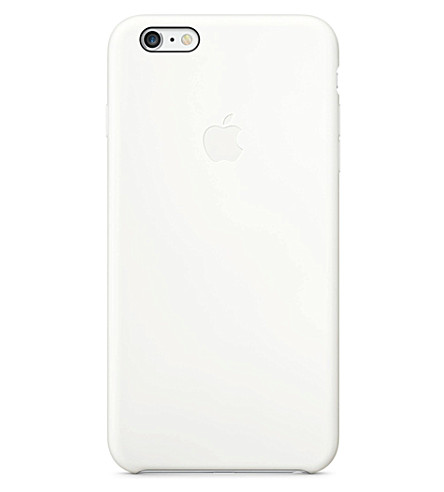 APPLE iPhone 6 plus silicone case (White