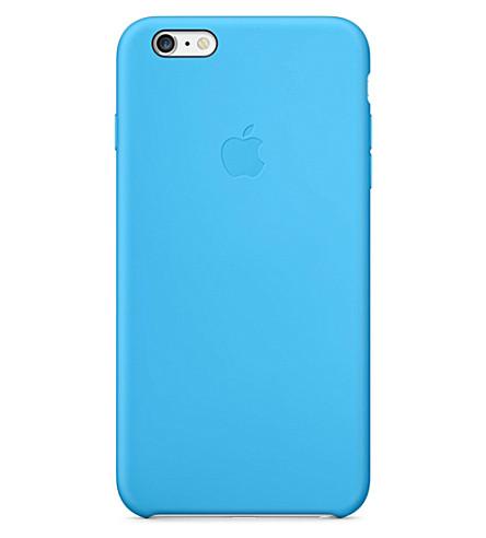 APPLE iPhone 6 plus silicone case (Blue