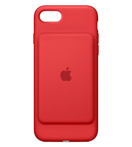 APPLE (Product) Red iPhone 7 smart battery case (Red