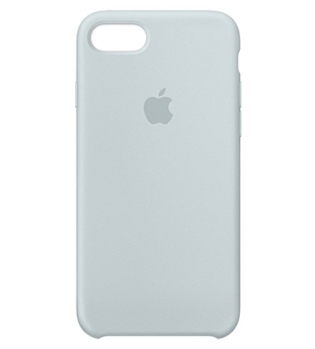 APPLE iPhone 7 silicone case (Mist+blue