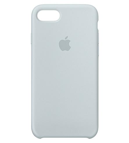 APPLE iPhone 7 silicone case (Mist+blue