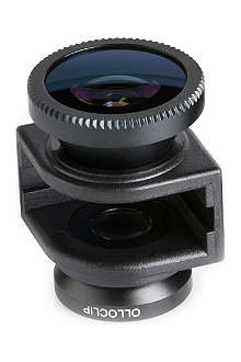 OLLOCLIP 3-in-1 lens for iPhone 5/5s Black