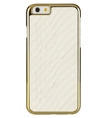 PIPETTO Iphone 6 exotic snap white (White