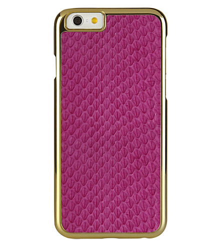 PIPETTO Iphone 6 exotic snap pink (Pink