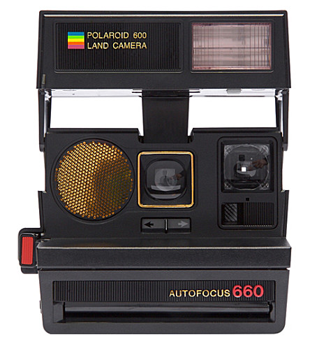 IMPOSSIBLE Polaroid Sun 660 AF refurbished camera