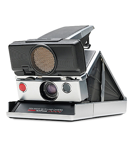 IMPOSSIBLE SX-70 Polaroid Sonar camera silver