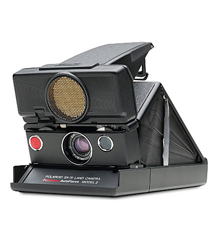 IMPOSSIBLE SX-70 Polaroid Sonar camera black