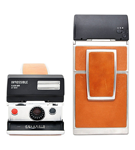 IMPOSSIBLE Flash bar for SX-70 cameras