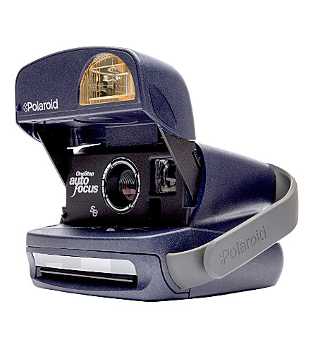 IMPOSSIBLE 600 Polaroid round camera