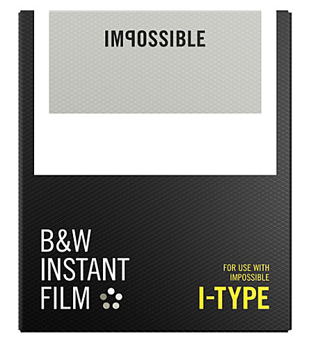 IMPOSSIBLE B&W film for i-type cameras