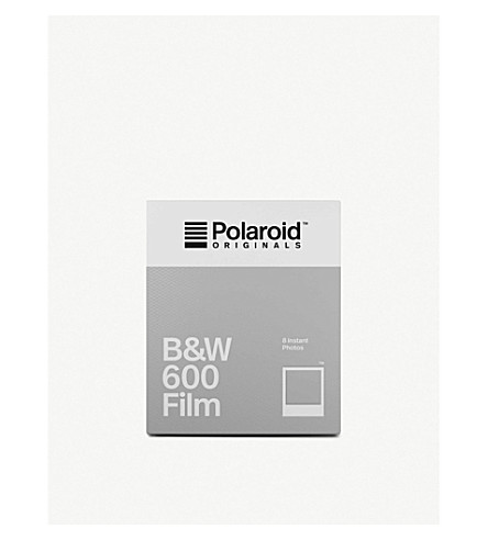POLAROID ORIGINALS Black & White 600 instant film
