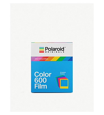 POLAROID ORIGINALS Colour 600 Instant film with colour frames