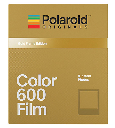 POLAROID ORIGINALS Colour 600 Instant film with gold frames