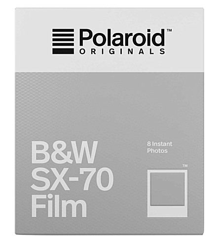 POLAROID ORIGINALS Black & White Instant SX-70 film