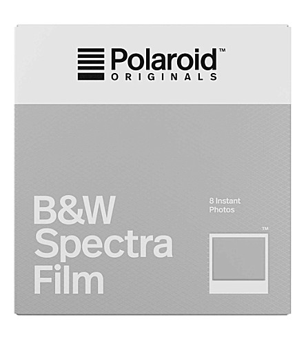 POLAROID ORIGINALS Black & White instant spectra film