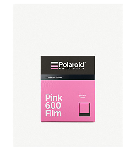 POLAROID ORIGINALS Black and pink duochrome 600-type film