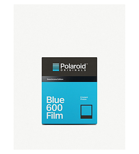 POLAROID ORIGINALS Black and blue duochrome 600-type film