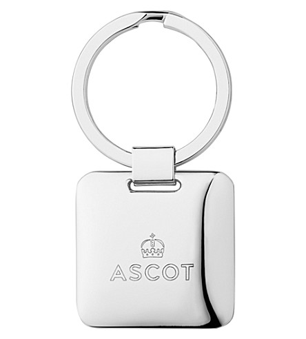 LINKS OF LONDON Ascot sterling silver-plated keyring