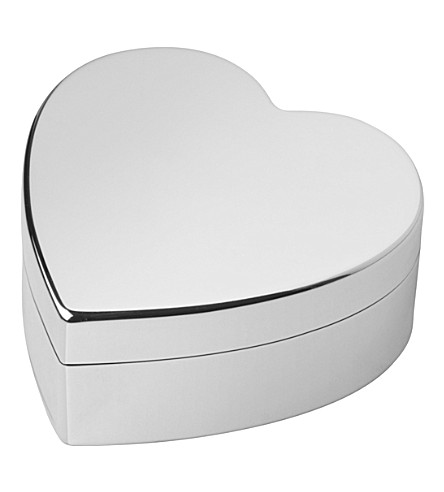 LINKS OF LONDON Heart sterling silver trinket box (Silver